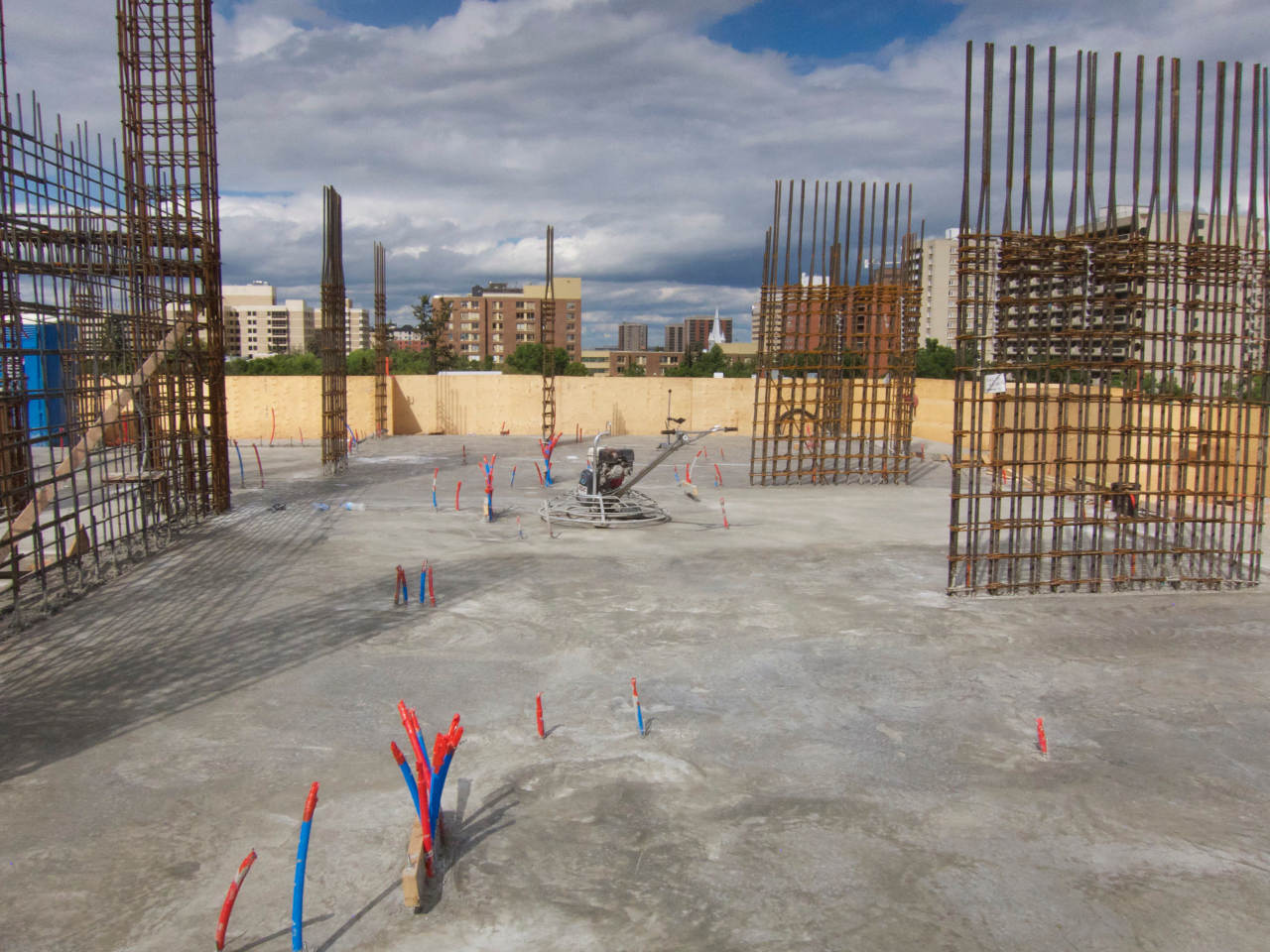 Edmonton concrete F-number testing for flatness and levelness